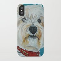 westie iPhone & iPod Cases featuring Jesse the Beautiful Westie by Barking Dog Creations Studio