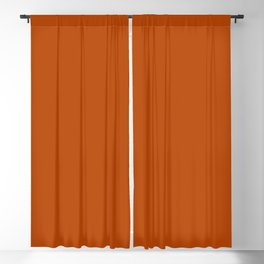 Best Seller Colors of Autumn Terracotta Orange Brown Single Solid Color - Accent Shade Hue Colour Blackout Curtain