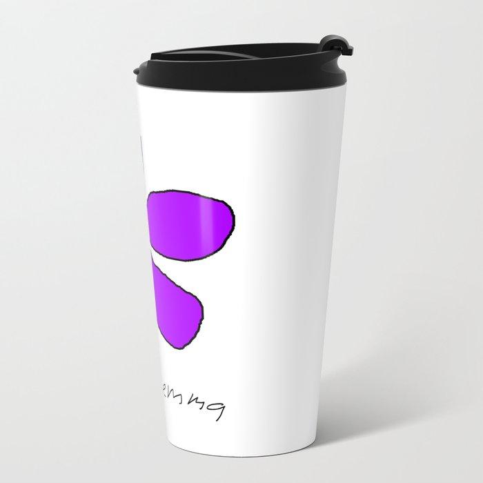 Violetra Metal Travel Mug