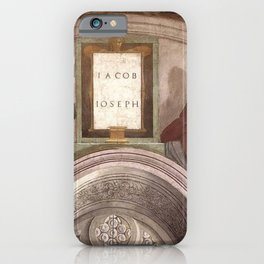 Michelangelo - Jacob and Joseph iPhone Case