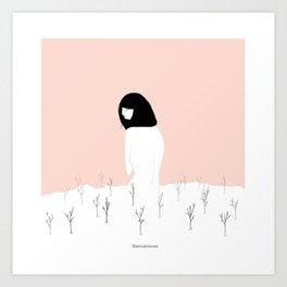 Blancanieves Art Print
