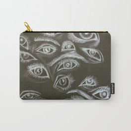 Eyes in the Dark Carry-All Pouch