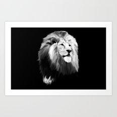 Leo king Art Print
