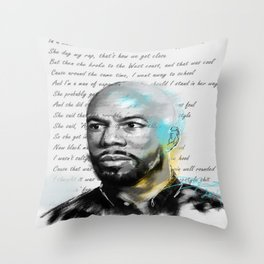 H.E.R Throw Pillow
