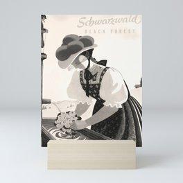 Schwarzwald Black Forest Affiche Mini Art Print