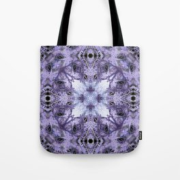 Inverse Fern Reflection Tote Bag