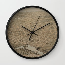 Jefferson 1872 Wall Clock