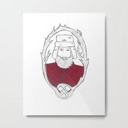 Burly Men : Lumberjack Metal Print