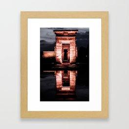 Debod//Noches Framed Art Print