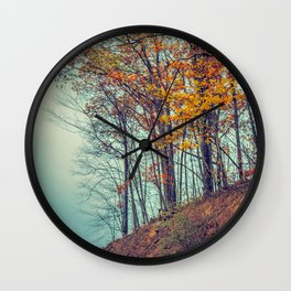 Above the Clouds in Appalachia in Autumn -- Landscape Wall Clock