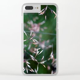 Shimmering Seeds Clear iPhone Case