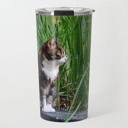 Amsterdam Cat Travel Mug