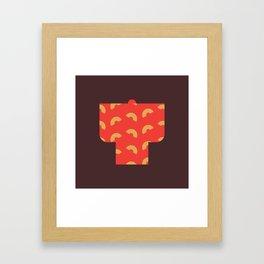 Japan Kimono Framed Art Print