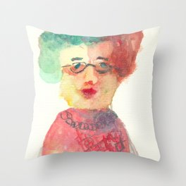 My Grandma is a Wise Lady Throw Pillow