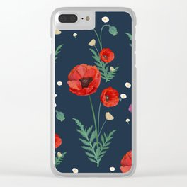Blight Flower Clear iPhone Case