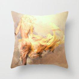 Taken Throw Pillow