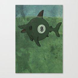 Pool Shark Canvas Print
