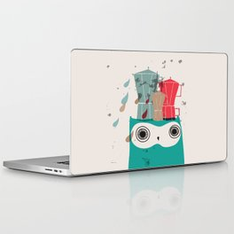 Owl Aloud Laptop & iPad Skin