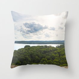 Alyen Lake Lookout - Algonquin 2016 Throw Pillow
