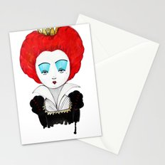 The Queen of your heart Stationery Cards