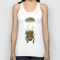 military Tank Tops featuring Military by Tanya_tk