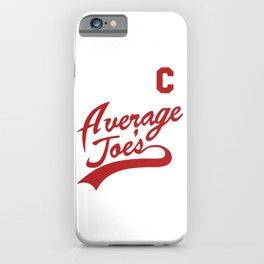 Average Joe's Gym Design, Poster Gymnastics, Movie, Dodgeball, Hardball iPhone Case