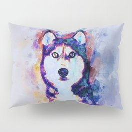 Tika'ani our Siberian Husky Pillow Sham