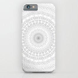 Mandala BW iPhone Case