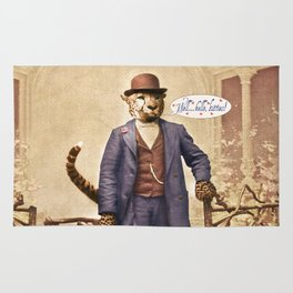 "One Cool Cat: ""Well . . . Hello, kitties!"" Rug"
