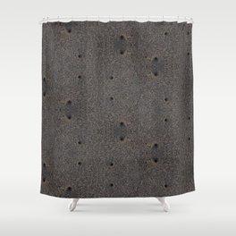 Sand Wormholes. Shower Curtain