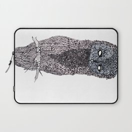 Owl // ink Laptop Sleeve