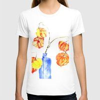 lanterns T-shirts featuring Chinese Lanterns by Kate Havekost Fine Art