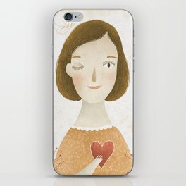 Big Heart iPhone Skin