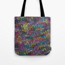 Colorful Geometric Pattern #06 Tote Bag