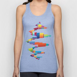 After the earthquake Unisex Tank Top