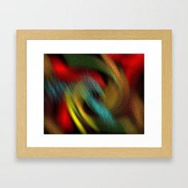 rolling colours Framed Art Print