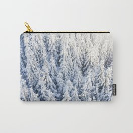 Trees & Snow Carry-All Pouch