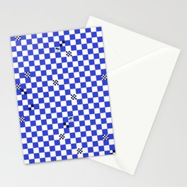 The tiler's odd sense of humor  Stationery Cards