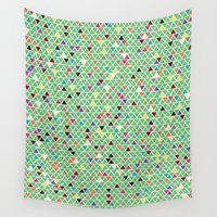 mexico Wall Tapestries featuring Mexico by Camille Hermant
