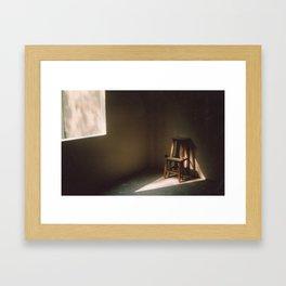 Loneliness. Framed Art Print