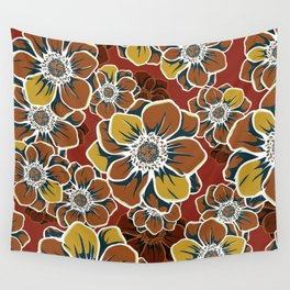 Mandala Flowers 7 Wall Tapestry
