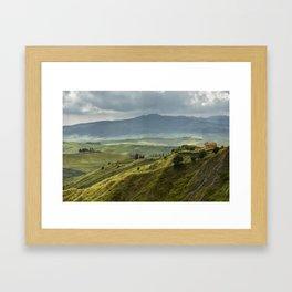 Tuscany hills II Framed Art Print
