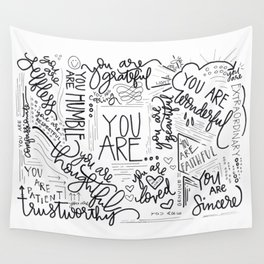 YOU ARE.. Wall Tapestry