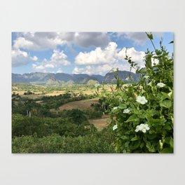 Viñales Valley views Canvas Print