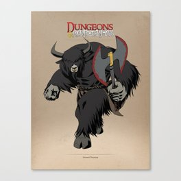 D&R Group 1: Yenward Firestomp Canvas Print