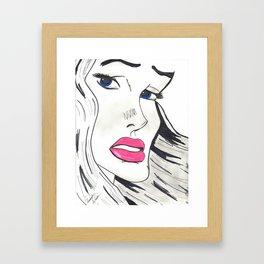 I Still Want You Framed Art Print