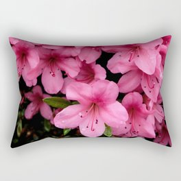 Asiatic Azaleas Rectangular Pillow