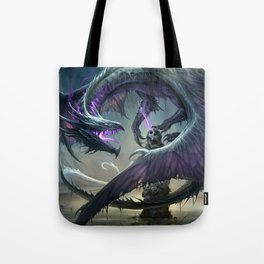 Black Dragon v2 Tote Bag