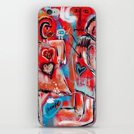 Some things are better left unexplained iPhone Skin