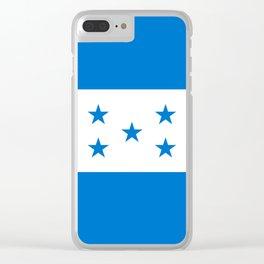 Flag: Honduras Clear iPhone Case